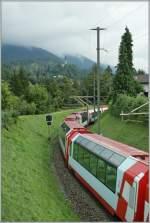 Glacier Express/88682/glacier-express-kurz-vor-reichenau-am-13 Glacier-Express kurz vor Reichenau am 13. Aug. 2010.