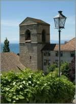 Genferseeregion/145898/ein-lavaux-foto-klassiker-die-kirche-von-st-saphorin Ein Lavaux-Foto-Klassiker: die Kirche von St-Saphorin.  28.05.2011